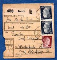 Colis Postal / De Graz - Alsace-Lorraine