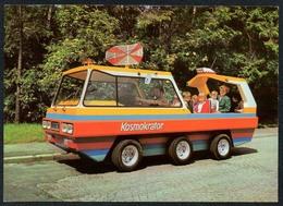 C5867 - TOP Görlitz Mondauto - Haus Junge Pioniere Bruno Gleissberg - Park Der Thälmann Pioniere - Ansichtskarten