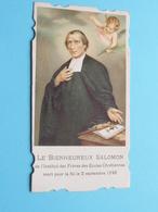 Le BIENHEUREUX SALOMON De L'Institut Des Frères Des Ecoles Chrétiennes / 1792 ( Zie / Voir Photo ) ! - Religion & Esotérisme