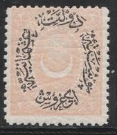 Turkey, Ottoman Empire 1881 - Sc 65, 2pi, Pale Salmon - MLH - Unused Stamps