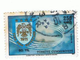 TURKEY»1971»AIR MAIL»MICHEL TR 2222»USED - 1921-... Repubblica