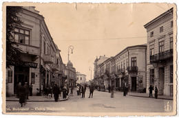 BOTOSANI : CALEA NATIONALA - CARTE VRAIE PHOTO / REAL PHOTO POSTCARD - 1940 (ac349) - Romania