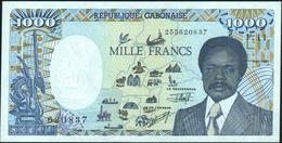 GABON - 1.000 Francs 01.01.1991 AU-UNC P.10 B - Gabun