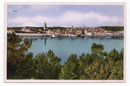 1930s YUGOSLAVIA, CROATIA, RAB, ISLAND, ILLUSTRATED POSTCARD, NOT USED - Croatia