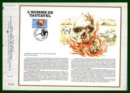 France CEF N° 1090 Yv. 2759 L'Homme De Tautavel 1992 Préhistoire - Prehistorie