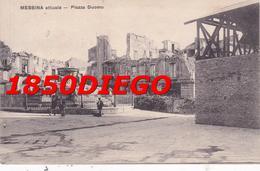 MESSINA - PIAZZA DUOMO  F/PICCOLO VIAGGIATA ANIMATA - Messina