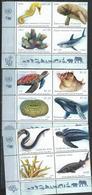 UN-GE,NY,VI. Scott # 663-66,1212-15,634-37 MNH. Endangered Species 2019 - New York/Geneva/Vienna Joint Issues