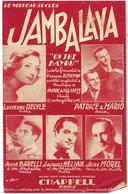 Jambalaya - Lucienne Delyle, Patrice Et Mario ... (p : Fernand Bonifay ;  M :Hank Williams) - Non Classés