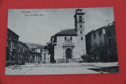 Andalucia Granada Plaza Santa Ana  Ed. Hauser Y Menet NV - Espagne