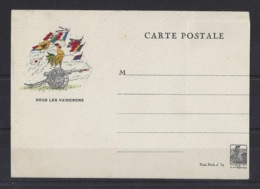 """FRENCH POSTCARD.."""" 1939 """"...POSTCARD WITH GYMNASTIQUE CARD ATTACHED TO REVERSE...MINT. - France"""