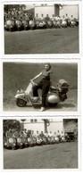 3 Petites Photos - Scooter VESPA - Voir Scan - Automobili