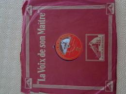 La Voix De Son Maitre: 78 Tours, Deep River, Negro Spirituel, DA-1676 - 78 Rpm - Schellackplatten