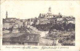 SIENA  PANORAMA  (DA S. DOMENICO)   1905 - Italie