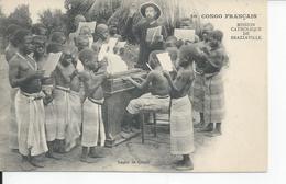 CONGO FRANCAIS   Mission Catholique De Brazzaville Lecon De Chant - Brazzaville