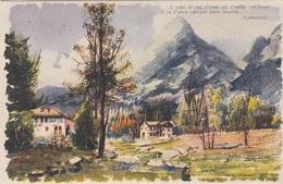 CARDUCCI - L'erbe, Il Ciel, L'onde Ivi D'amorson Piene, Künstlerkarte, 4 Fach MIF, Gel.1919 - 1900-44 Victor Emmanuel III.
