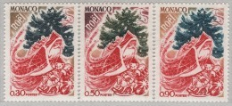 MONACO 1972 - SERIE N° 871 A 873 - 3 TP NEUFS** - Monaco