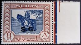 Soudan Sudan 1951 Service Surchargé Overprinted S.G. Yvert S97 ** MNH - Sudan (...-1951)