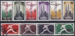 ESPAÑA 1960 Nº 1280/89 USADO - 1951-60 Used