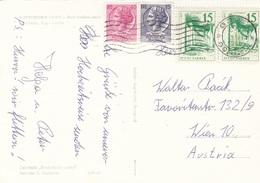 ITALIEN/JUGOSLAWIEN - 2 Länder 4 Fach Frankatur Auf Ak POSTOINSKA JAMA - Philatelistische Karten