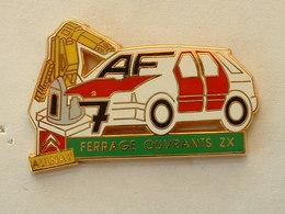 PIN'S CITROËN - FERRAGE OUVRANTS ZX - AULNAY - ARTHUS BERTRAND - Citroën