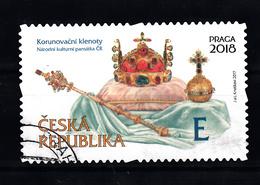 Ceska Republika 2017 Mi Nr 913: Kroonjuwelen , Waarde E - Tsjechië
