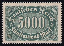 256II Queroffset 5000 Mark Mit PLF II Nf Verbunden, Feld 41, ** - Abarten