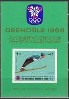 1968GRENOBLE - Jemen - MiNr: 457 Block 60 **/MNH - Winter 1968: Grenoble