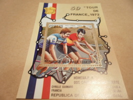 Miniature Sheet Tour De France Cycling 1972 Perf - Equatorial Guinea