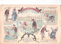IMAGE D'EPINAL PELLERIN Ca 1900 : LE FRERE DE GRIBOUILLE - Collections