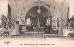 Les Moussières Intérieur église Canton Les Bouchoux Près Saint Claude - France