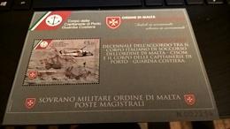 SMOM 2017 CAPITANERIE PORTO GUARDIA COSTIERA CISOM - BF INTEGRO - Sovrano Militare Ordine Di Malta