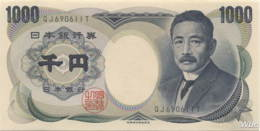 Japan 1000 Yen (P100e) (Pref: QJ) -UNC- - Japon