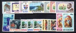 CI1363i - ST. VINCENT , Alcune Serie Nuove ** MNH Con Gomma Difettosa - St.Vincent (1979-...)