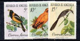 CI1324 - VENEZUELA 1961, Posta Aerea Serie Yvert N. 741/743  Nuovo * - Venezuela