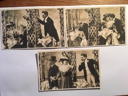 3 Cpa, Fantaisie , Le Mari, La Femme Et L'Amant, édition RPI, N°, II, IV Et V, Non écrites - Fancy Cards