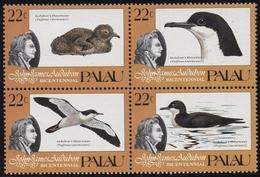 Palau 1985 Aududon-Sturmtaucher 65/68 ZD Postfrisch - Palau