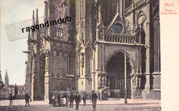 CPA - 57 - METZ - Dom Cathédrale - Ed NELS En Couleur N° 133 Série 104 - Très Bel état Tirage Ancien - Metz