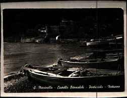 4277) CARTOLINA DI SANTA MARINELLA-CASTELLO ODESCALCHI-PORTICCIOLO-NOTTURNO-VIAGGIATA - Altre Città