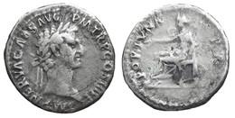 [H] +++ AR Denarius / Denier - NERVA -- RIC 17 -- Fortuna Reverse  +++ - 2. Die Flavische Dynastie (69 / 96)