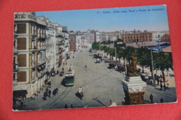 Andalucia Cadiz Calle Isaac Peral + Tramway NV - Espagne