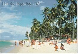 Cartolina Dal Brasile, Itaparica - Per Bologna 1998 (vedi Foto) - Salvador De Bahia