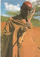 Cartolina Dalla Tanzania (MAASAI ELDER) - Per Ponzone 1988 (vedi Foto) - Cartoline