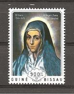 GUINEA BISSAU - 2014 EL GRECO Madonna (museo Del Prado, Madrid)  Nuovo** MNH - Madonnen