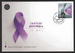 Bosnia Serbia 2019 World IBD Day Crohn's Disease Medicine Health Science FDC - Bosnia And Herzegovina