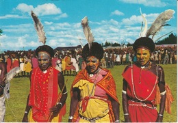 Cartolina Dalla Tanzania (KIKUYU DANCERS) - Per Ponzone 1988 (vedi Foto) - Tanzania