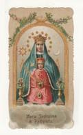 Santino Antico Fustellato Maria Santissima Di Piedigrotta - Religion & Esotérisme