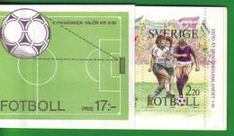 Svezia 1988 Libretto L1489 Il Calcio Svedese . - Libretti