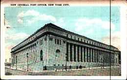 4319) Cartolina Di New York-new General Post Office -viaggiata 1924 - NY - New York