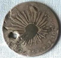 MONEDA DE PLATA DE MEXICO DE 1859 - México
