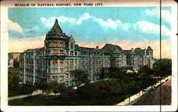 4320) Cartolina Di New York-museum Of Natural History -viaggiata 1924 - NY - New York